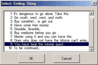End String Selector