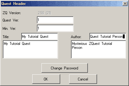 The Quest Header editor. Also, The Mysterious ZQuest Tutorial Person that may or may not be Nick would once again like to assure you that this was definitely planned for Part 20 and not Part 6...